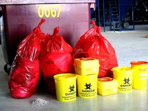 le traitement des déchets médicaux