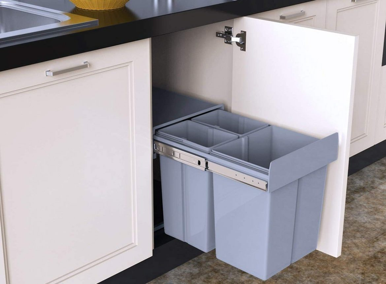 1home poubelle recyclable à compartiment 40L – Test et Avis complet