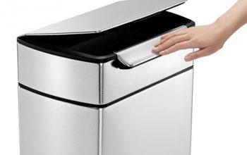 Simplehuman poubelle 40 litres Touch-bar